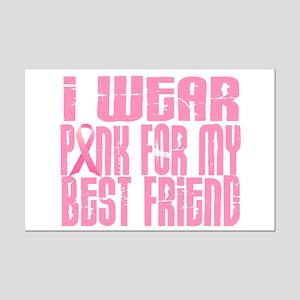 I Wear Pink For My Best Friend 16 Mini Poster Prin