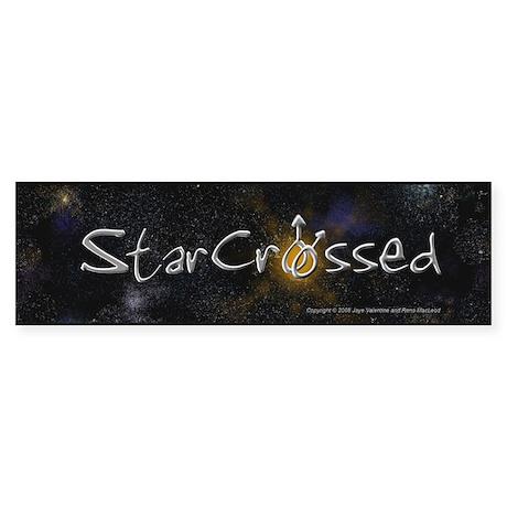 StarCrossed Novels Bumper Sticker