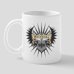 Oklahoma Heraldry Mug