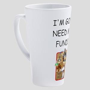 i love gentetics 17 oz Latte Mug