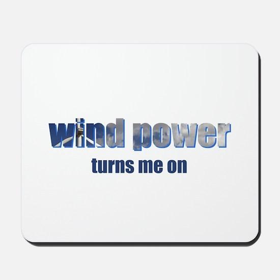 Wind Power Mousepad
