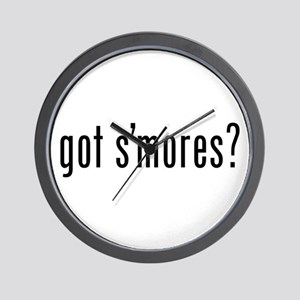 got s'mores? Wall Clock