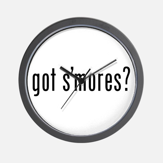 got s'mores? Wall Clock