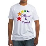 """Different Is Normal"" Fitted T-Shirt 3"
