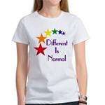 """Different Is Normal"" Women's T-Shirt 36"
