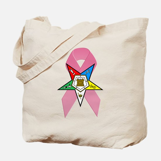 OES Breast Cancer Awareness Tote Bag