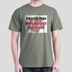 Eurasian Dogs woman's best friend Dark T-Shirt