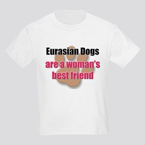 Eurasian Dogs woman's best friend Kids Light T-Shi