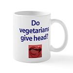Do Vegetarians Give Head? Mug