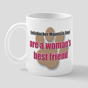 Entlebucher Mountain Dogs woman's best friend Mug
