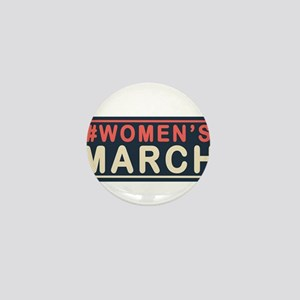 Womens March Mini Button