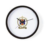 GAGNON Family Crest Wall Clock