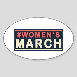 Womens March Sticker