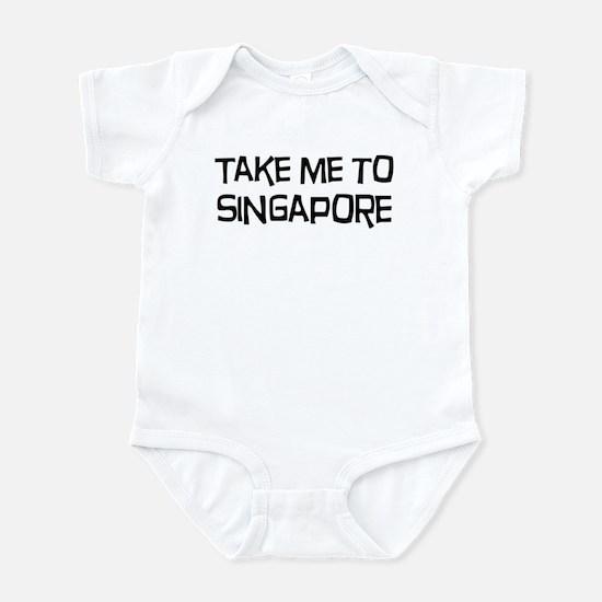 Take me to Singapore Infant Bodysuit