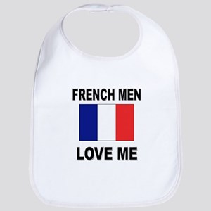 French Men Love Me Bib