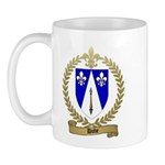 DUBE Family Crest Mug
