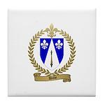 DUBE Family Crest Tile Coaster