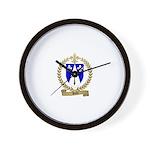 DUBE Family Crest Wall Clock