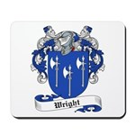 Wright Family Crest Mousepad