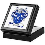 Wright Family Crest Keepsake Box