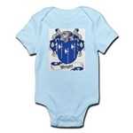 Wright Family Crest Infant Creeper