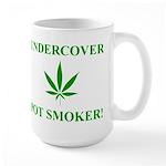 Undercover Pot Smoker Large Mug