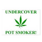 Undercover Pot Smoker Postcards (Package of 8)