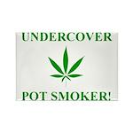 Undercover Pot Smoker Rectangle Magnet (100 pack)