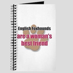English Foxhounds woman's best friend Journal
