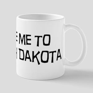 Take me to North Dakota Mug