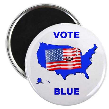 Vote Blue Democrat Magnet