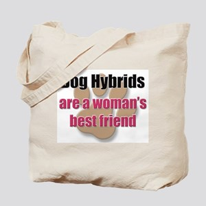 Dog Hybrids woman's best friend Tote Bag