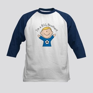 Big Brother by Leah Kids Baseball Jersey