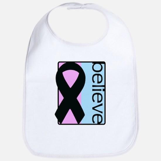 Pink and Blue (Believe) Ribbon Bib