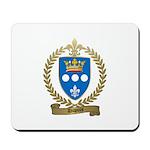 DUPUIS Family Crest Mousepad