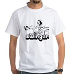 Swinger White T-Shirt