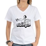 Swinger Women's V-Neck T-Shirt