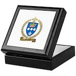 DUPUIS Family Crest Keepsake Box