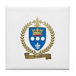 DUPUIS Family Crest Tile Coaster