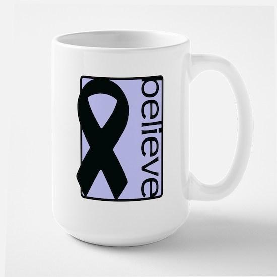 Periwinkle (Believe) Ribbon Large Mug