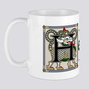 Hennessey Celtic Dragon Mug