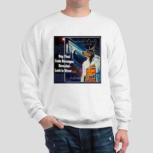 Dog Vinci Code Sweatshirt