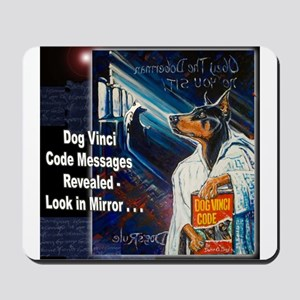 Dog Vinci Code Mousepad