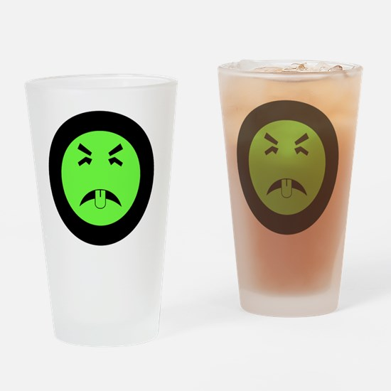 Funny Branded Drinking Glass