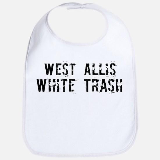 West Allis White Trash Bib
