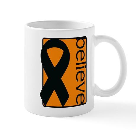 Orange (Believe) Ribbon Mug