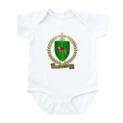 FOURNIER Family Crest Infant Creeper