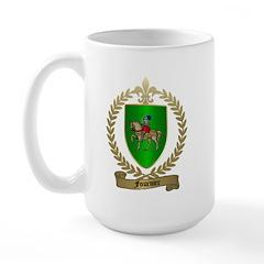 FOURNIER Family Crest Large Mug