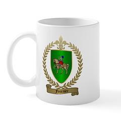 FOURNIER Family Crest Mug