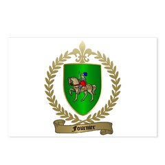 FOURNIER Family Crest Postcards (Package of 8)